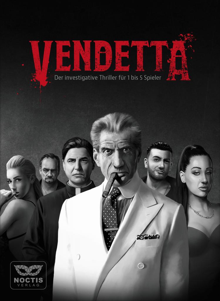 Krimispiel Vendetta Noctis Verlag Tatort Escape Game